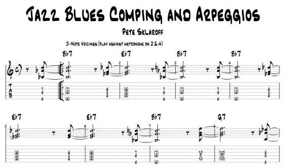 Skype Jazz Guitar Lessons | Pete Sklaroff
